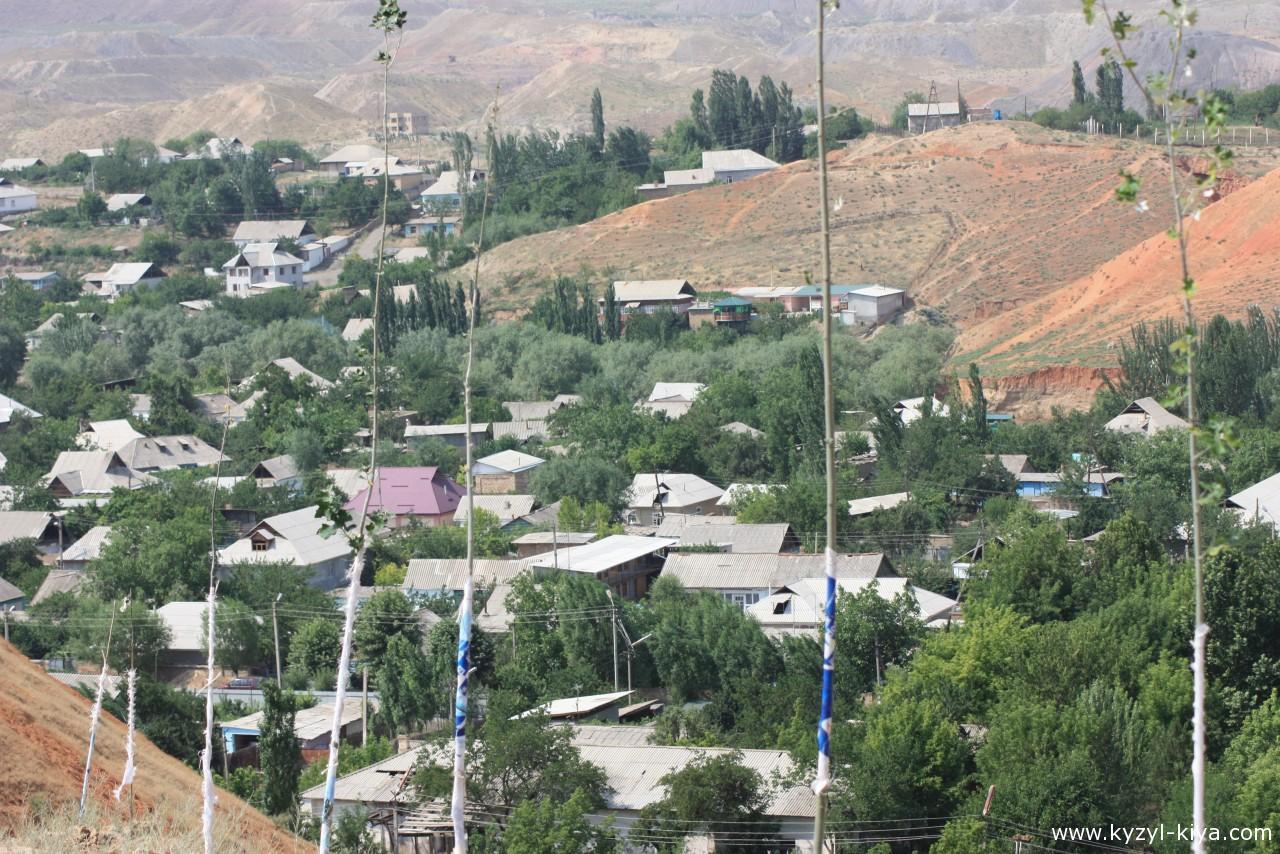 Кызыл-Кия (лето,2014)